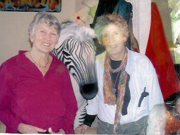Alix and Peggy Seeger